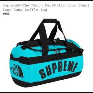 Supreme X Northface Arc Logo Duffle Bag - Teal